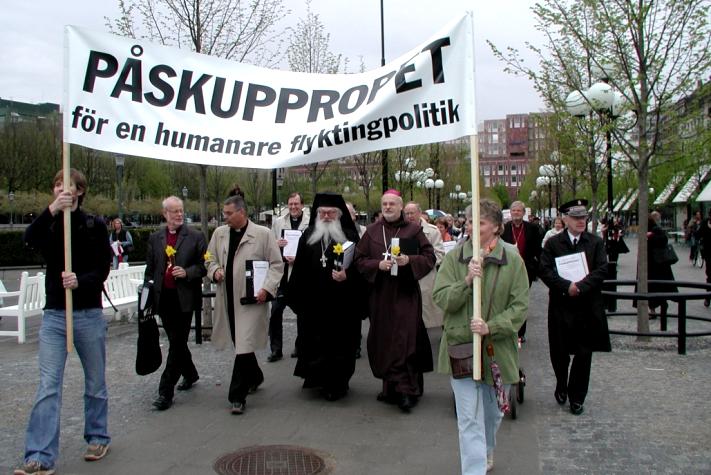 Påskuppropet 2005 är en av de mest uppmärksammade manifestationer som SKR genomfört.
