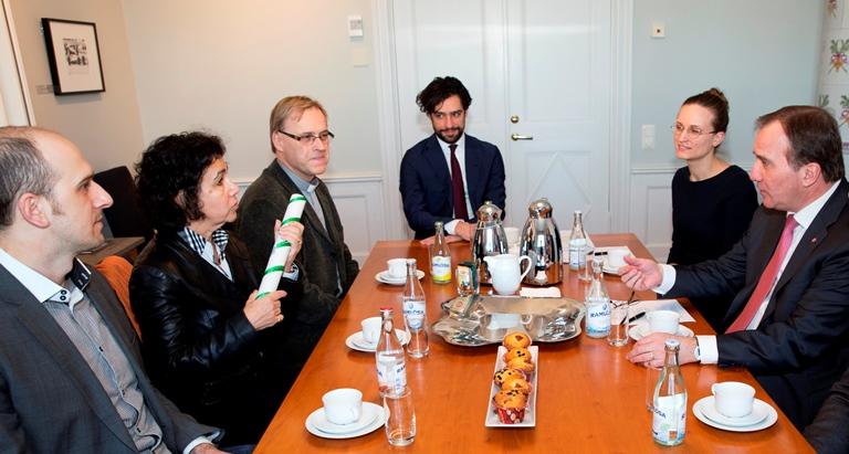 Möte regeringen statsminister Löfven