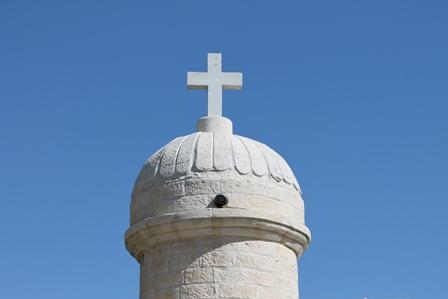 kyrka kors Nablus