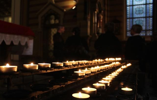 Katolska domkyrkan ljus