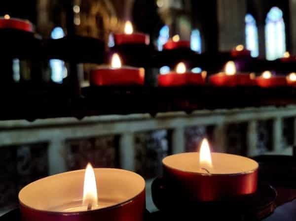 Kyrkornas uppmanas att vara med och be för fred i världen. Foto: Mikael Stjernberg.