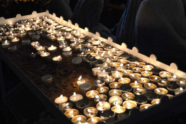 Brev till brandhärjad kyrka i Norrköping