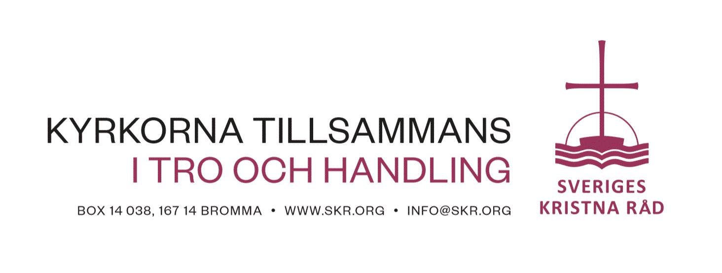 Grafisk profilmanual för Sveriges kristna råd (hösten 2018)