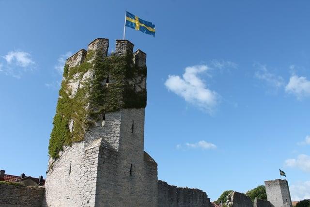Ringmur Gotland Almedalen