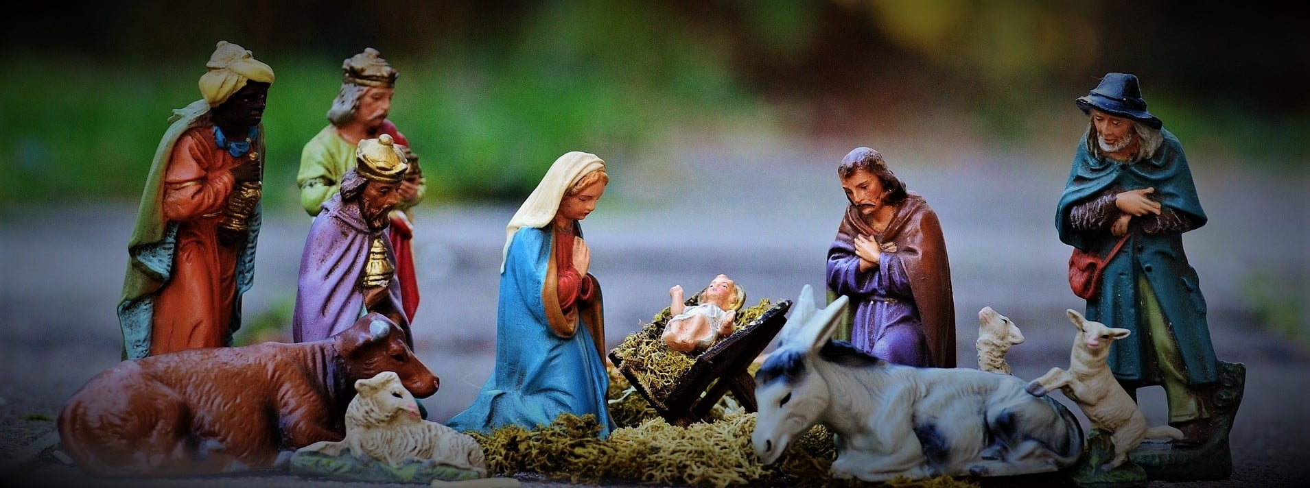 """""""Det var på den tiden då man firade julen till minne av Jesu födelse"""""""