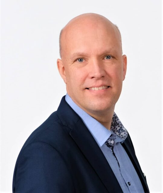 Mikael Stjernberg, press- och kommunikationsansvarig