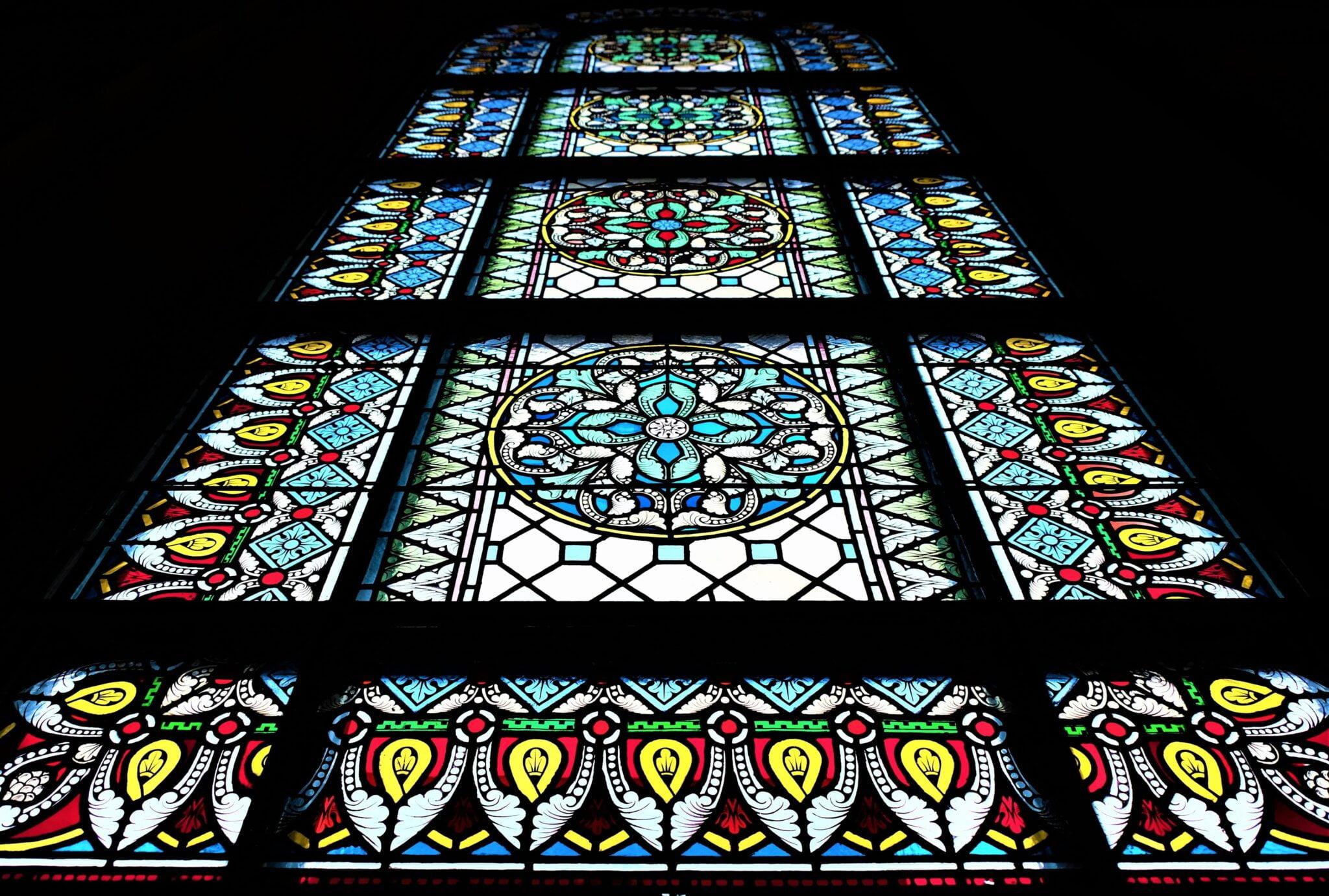 kyrka fönster