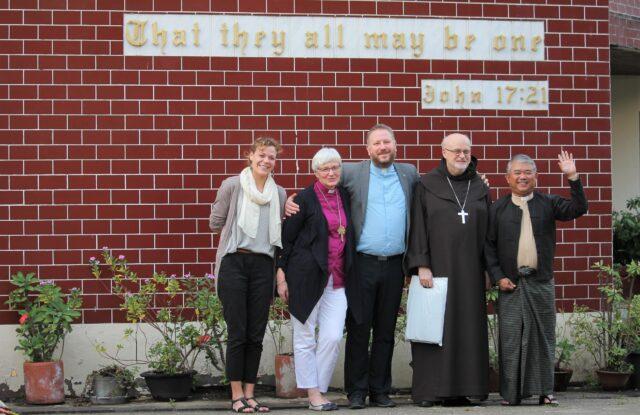 SKR skriver brev till kristna rådet i Myanmar