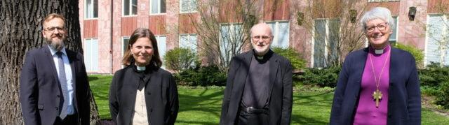 Sofia Camnerin, SKR:s nytillträdda generalsekreterare, öppningstalade vid årskonferensen – ärkebiskop Antje Jackelén vald till ny ordförande