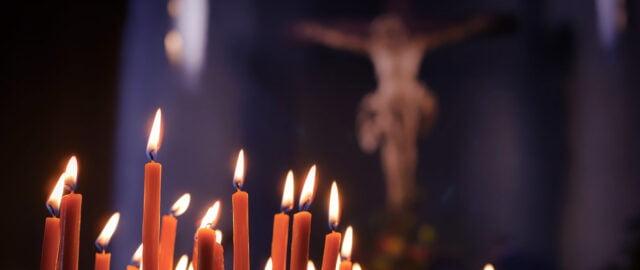 Bön efter polismordet i Biskopsgården